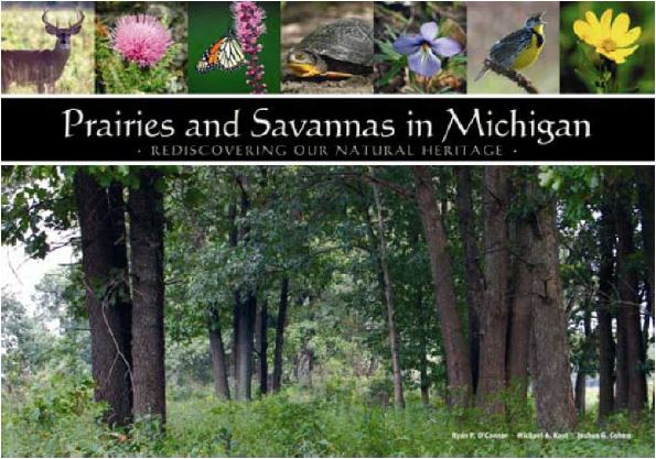 Prairies and savannas book cover