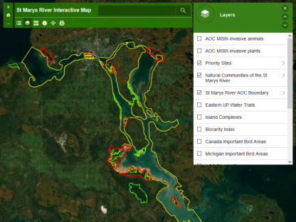 St. Marys River Map Viewer